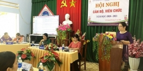 Hội nghị Cán bộ, Viên chức năm học 2020 - 2021
