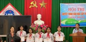 Hội thi thuyết trình văn học cấp trường. Năm học 2020 - 2021